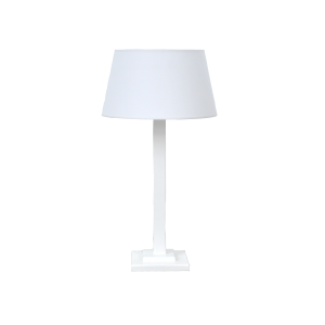 Square Lamp White